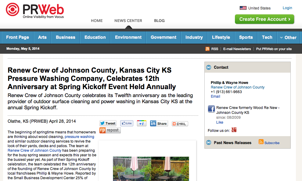 Pin on Renew Crew of Johnson County News