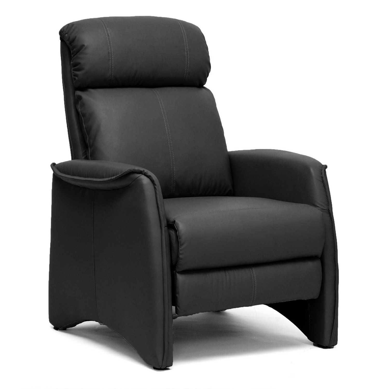 Baxton studio aberfeld modern recliner club