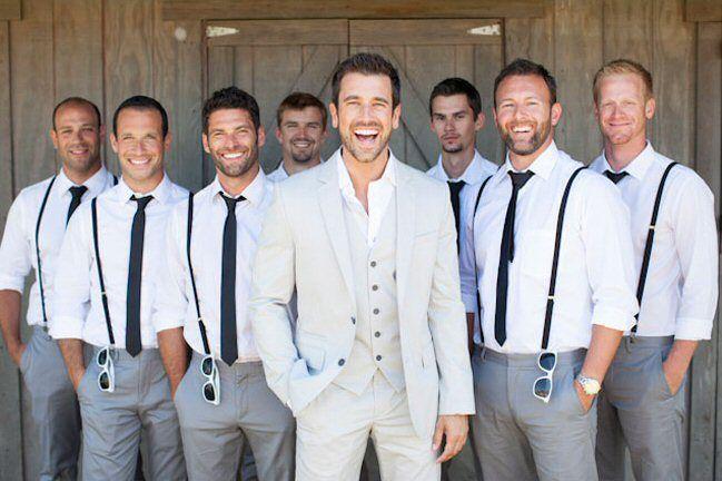 Casual Groomsmen Attire Idea With Images Wedding Groomsmen