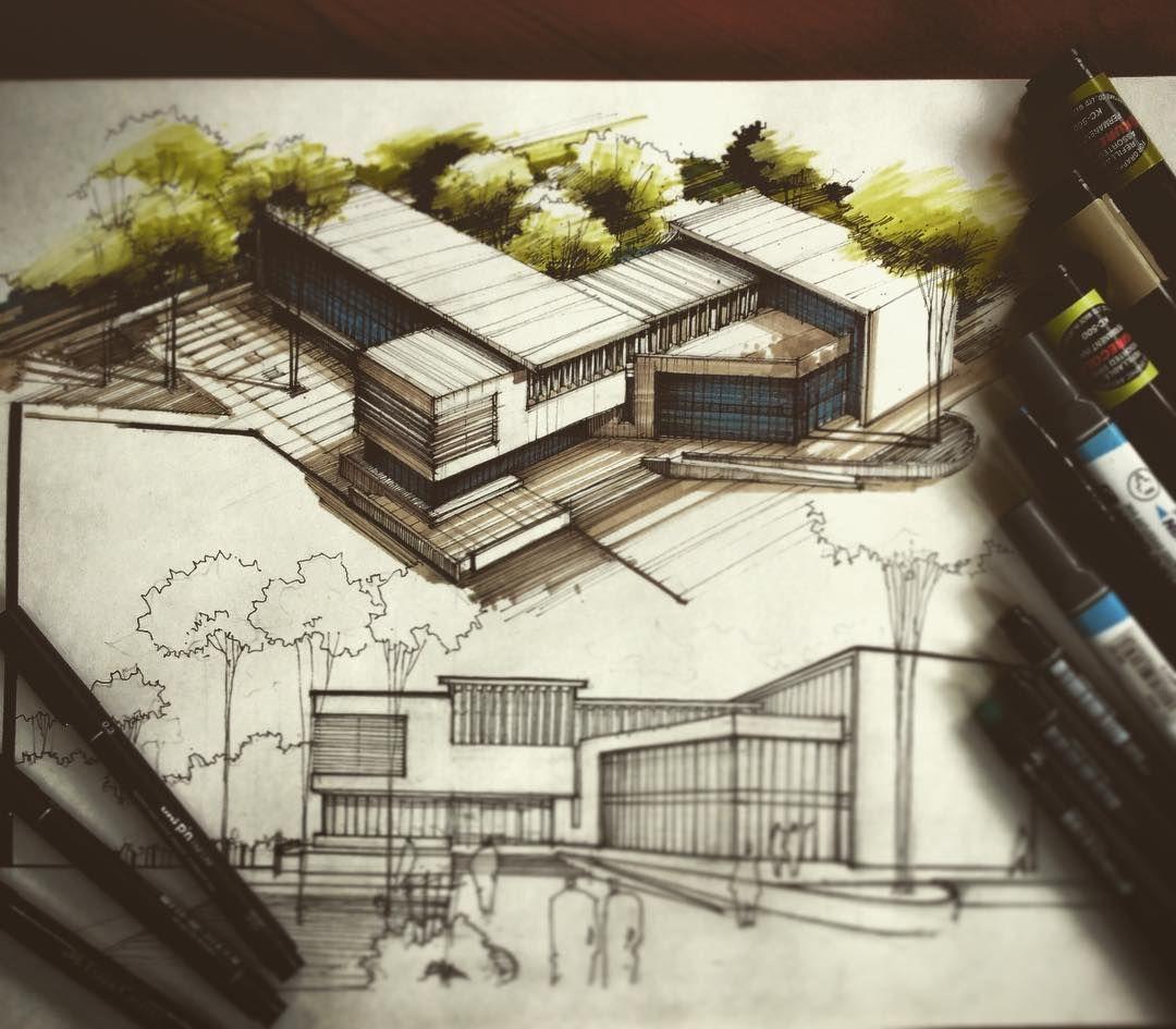 Arquitectura: Pin By Sevde Nur Güngördü On Architectural Sketches