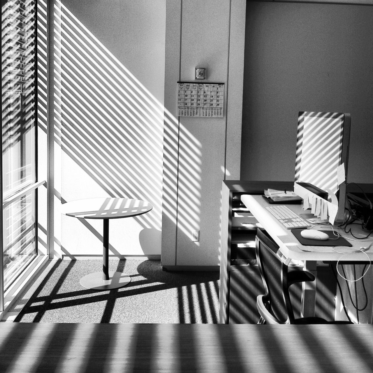 © Kathy Ryan, 2013, Mysterious shadows, Renzo Pianos New York Times Building