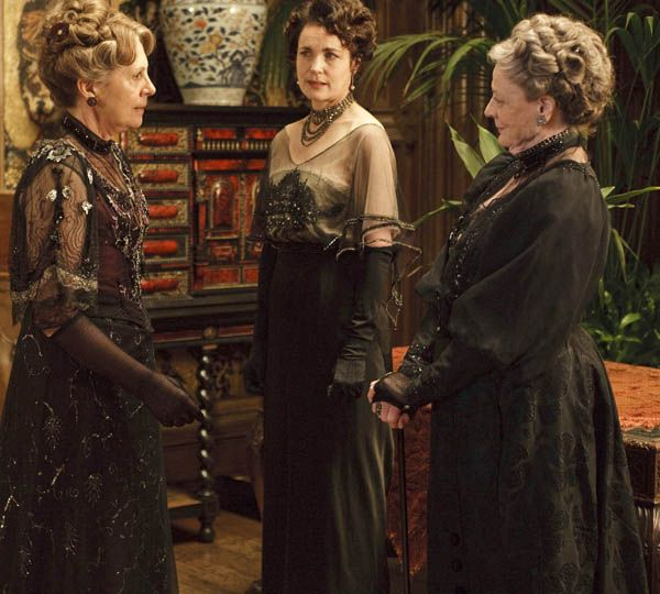 Historical Style Downton Abbey Interiors Favorite Tv Times