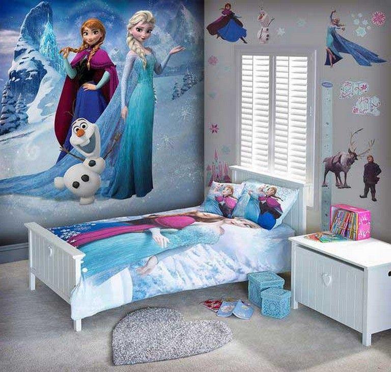 15 Lovely Frozen Themed Room Decor Ideas Your Kids Will Love Frozen Themed Roomdecorideas Frozen Theme Room Frozen Room Decor Frozen Bedroom Decor