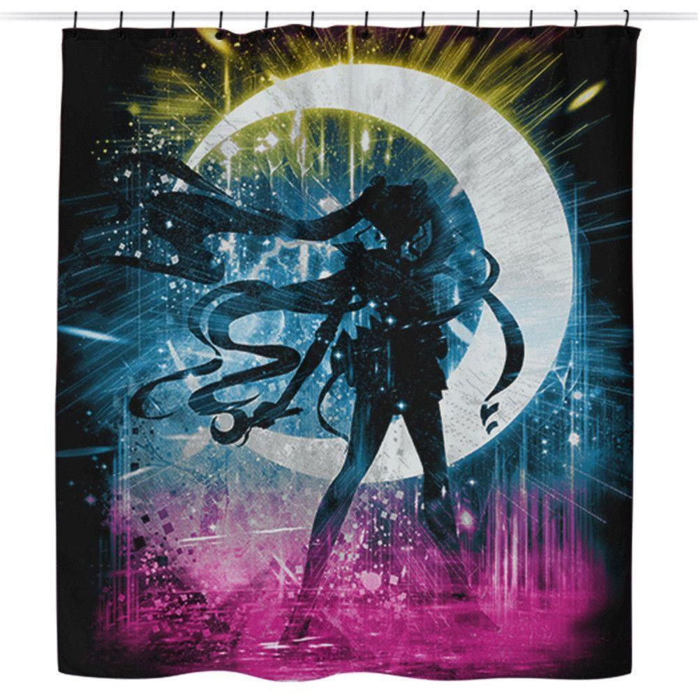Sailor Storm Shower Curtain Tapety Czarodziejki Z Ksiezyca
