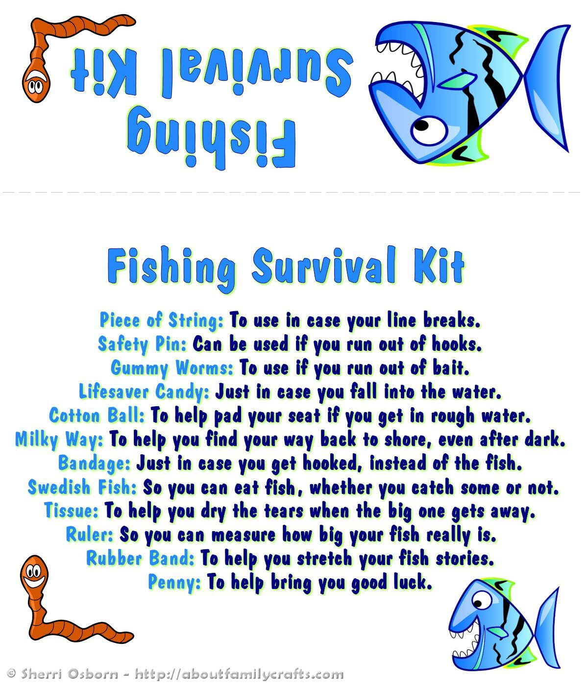 Coupons for fish
