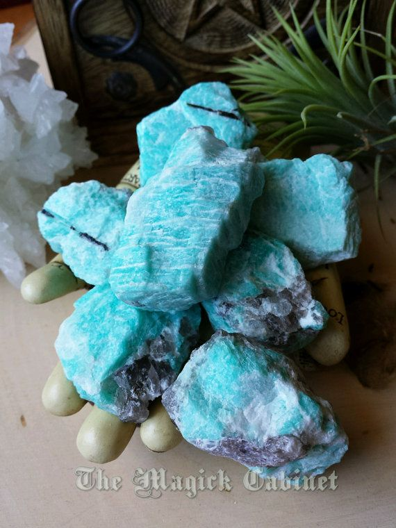 Amazonite The Stone Of Courage And Strength Set Of 3 Tumbled