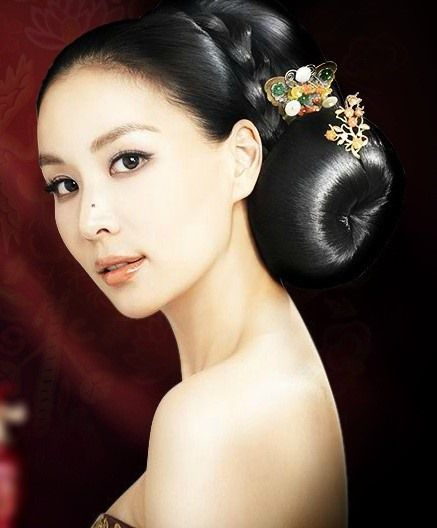 Traditional Korean Hairdo Korean Hair In 2019 Pinterest Asian