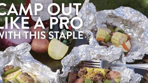 DIY Tin Foil Camping Recipes - Camp Out Meal - Tin Foil Dinners, Ideas for Camping Trips and On Grill. Hamburger, Chicken, Healthy, Fish, Steak , Easy Make Ahead Recipe Ideas for the Campfire. Breakfast, Lunch, Dinner and Dessert, Snacks all Wrapped in Foil for Quick Cooking http://diyjoy.com/camping-recipes-tin-foil