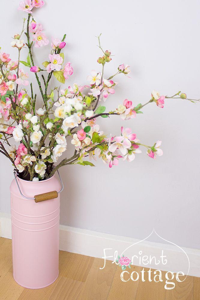 Ikea Deko vase socker ikea im milchkannen look deko