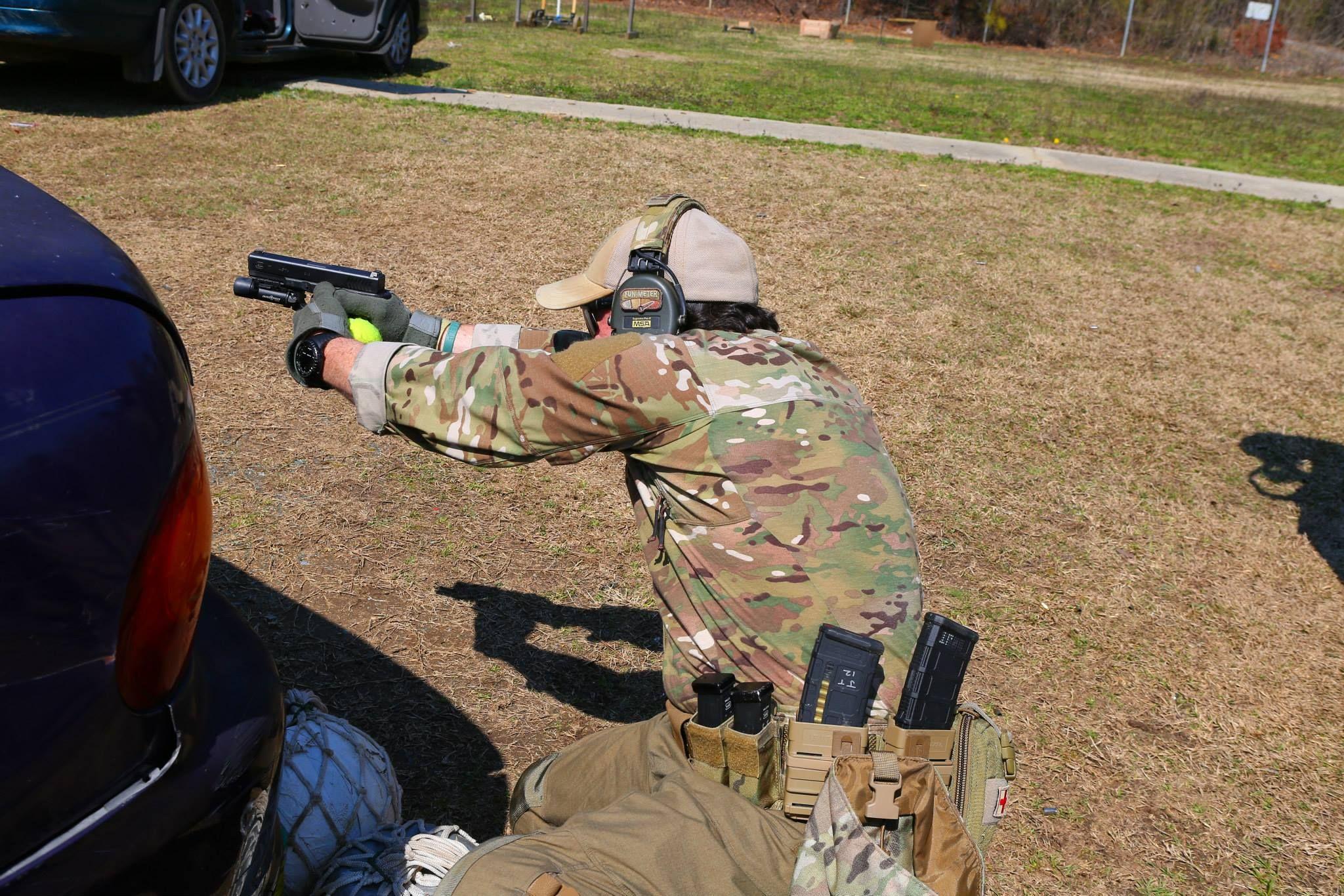 Talon Defense Dark Gunfighter - Pistol/Rifle Vehicle Defense and Counter Defense https://www.facebook.com/TalonDefense.org