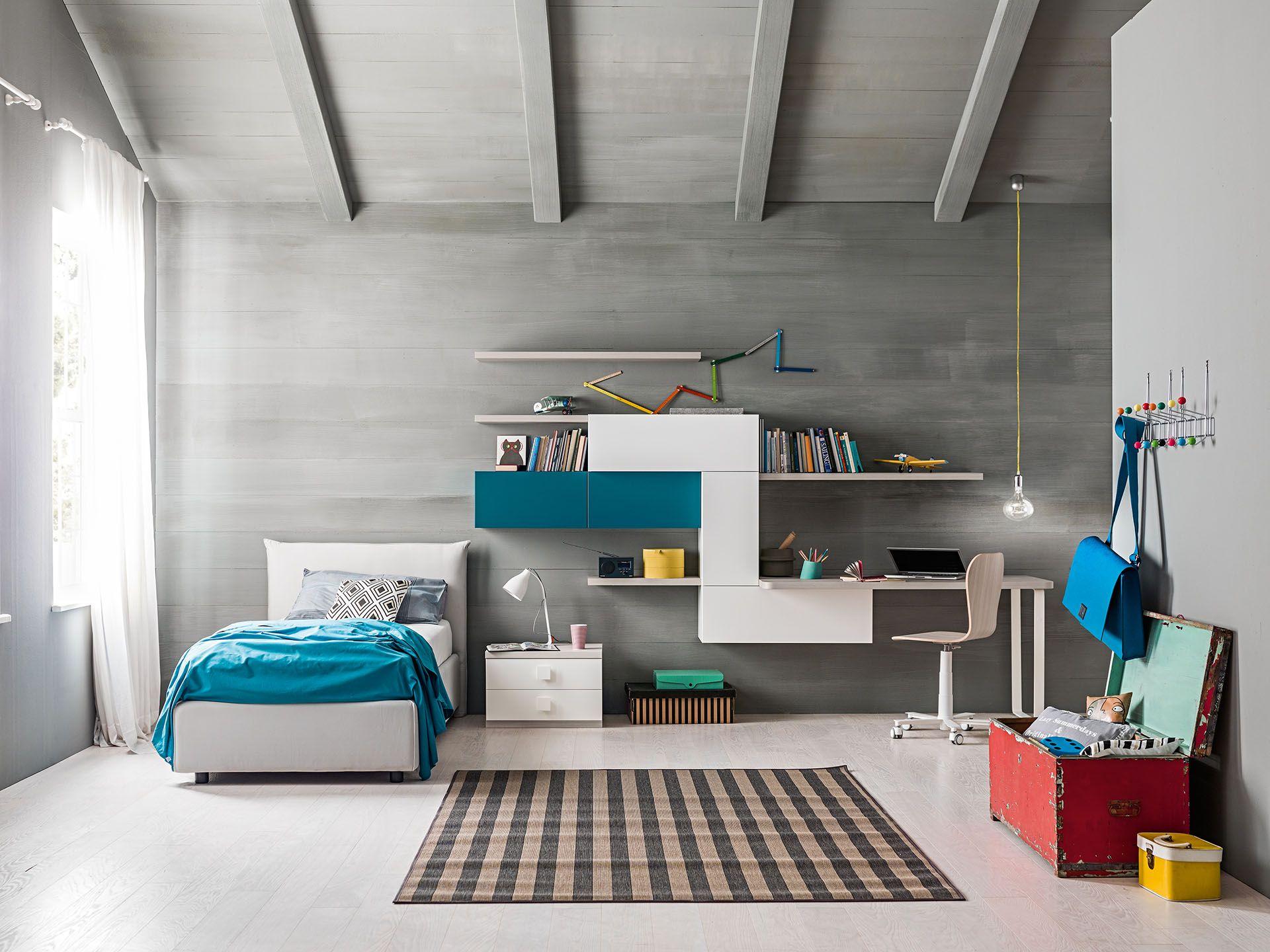 Camerette Oliver ~ Ol04 cameretta per ragazzi zg la camera è dotata di letto
