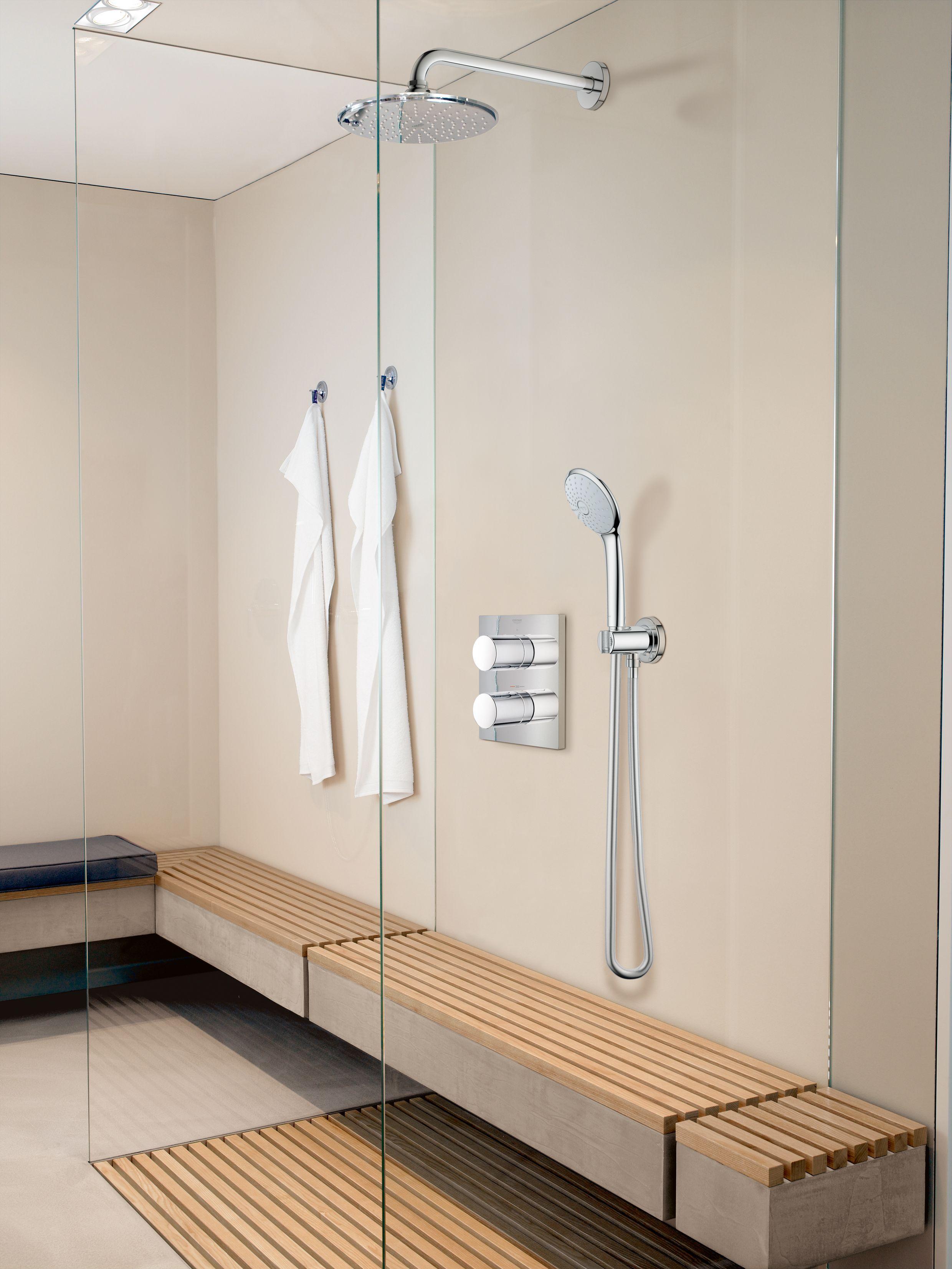 Luxe GROHE inbouwset, verkrijgbaar bij Sanisale.com | 0719-badkamer ...