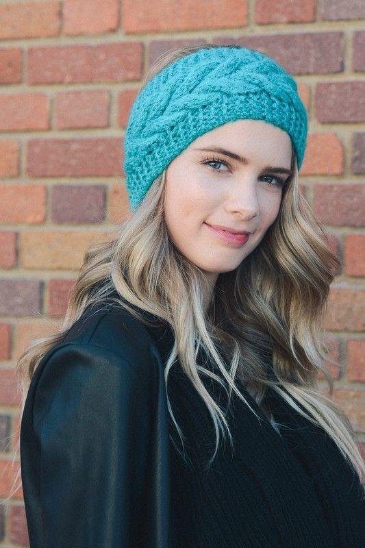 Crochet Headband | Hat | Pinterest | Tejido