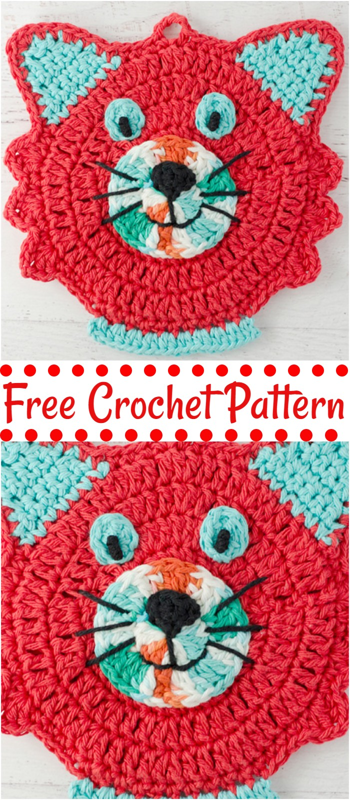 Free Crochet PotHolder Patterns For Your Kitchen - Craft Ideas #potholders