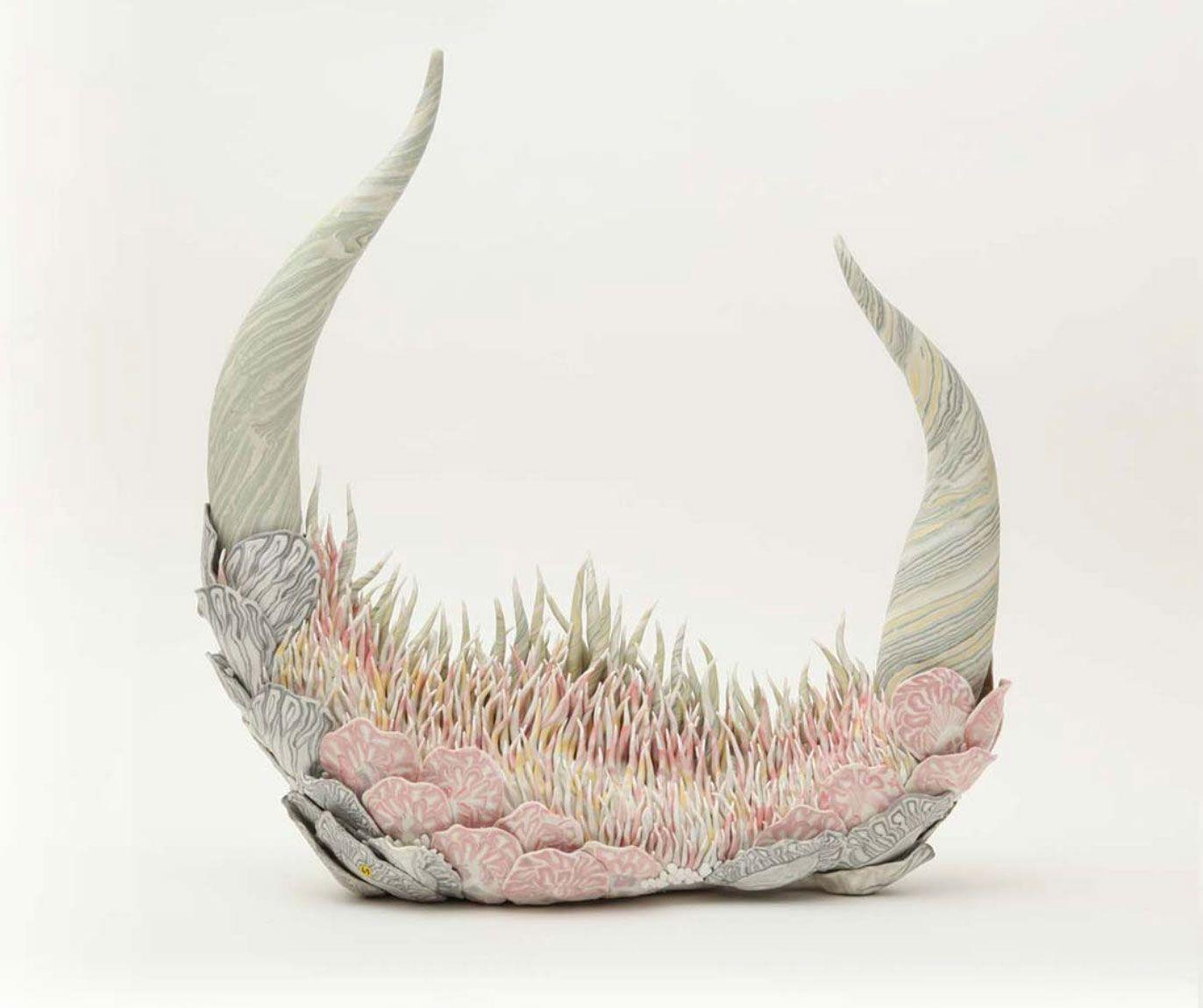 Konno Tomoko - Organic sculptures
