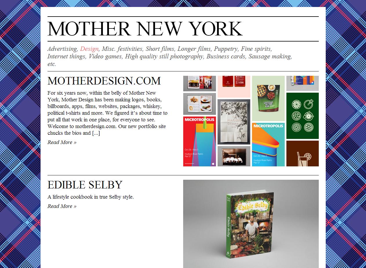 Mother  New York Advertising Agency  | New York Advertising