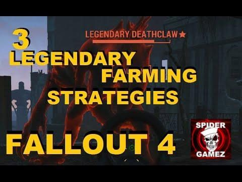 Fallout 4 - Legendary Weapon Farming Methods (Three