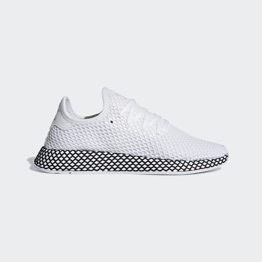 adidas Deerupt Runner Shoes White | adidas US | Runners