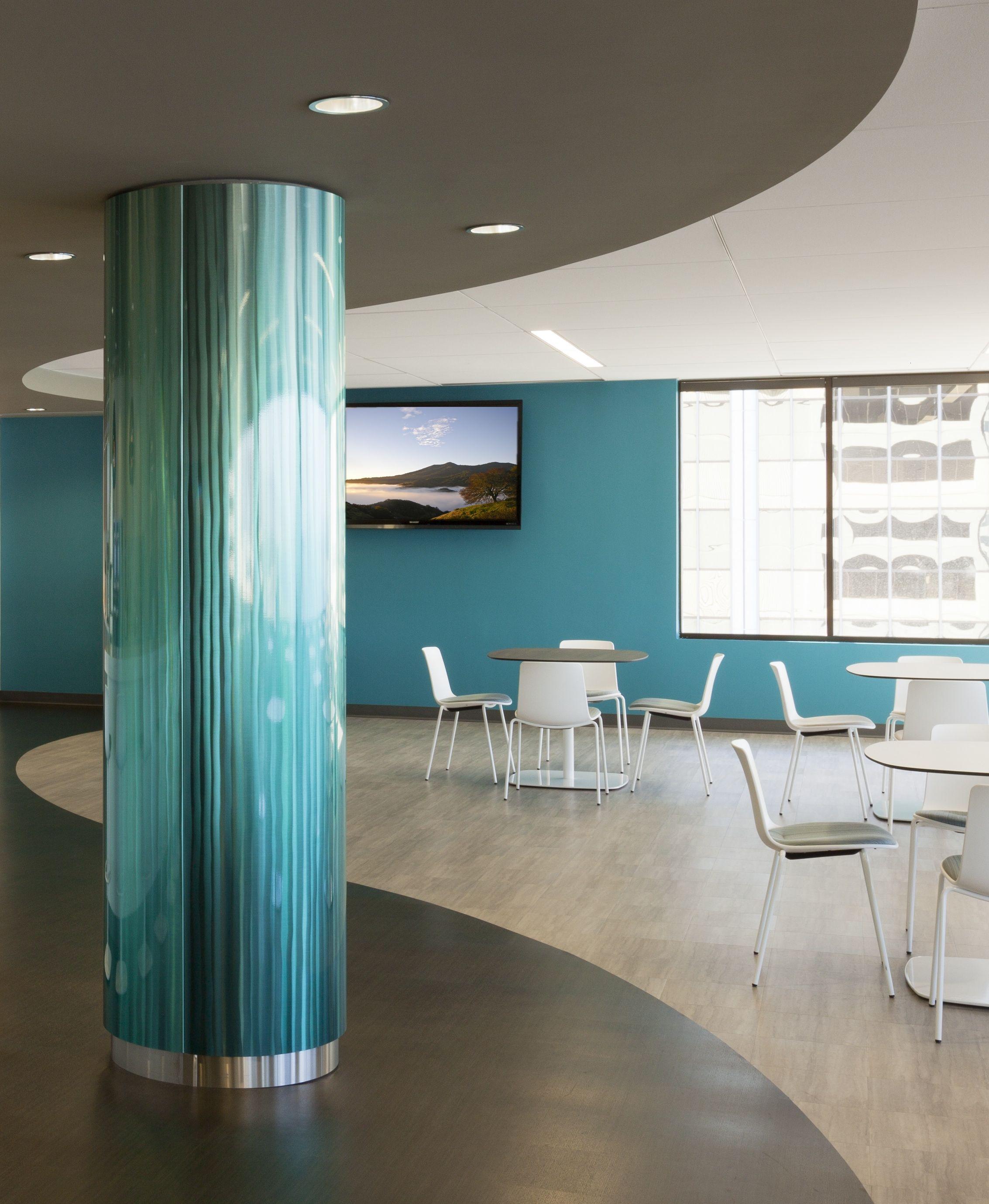 Moz Easy To Assemble Eta Round Column Covers With Custom Blendz Http Www Mozdesigns Com Systcolumns Html Column Design Interior Design Office Space Design
