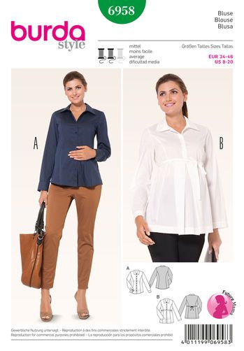 Burda Style Maternity Wear | SIMPLICITY SEWING PATTERNS | Pinterest ...