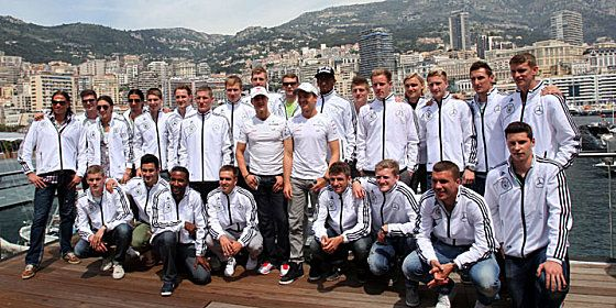 Visit to F1 race in Monaco.
