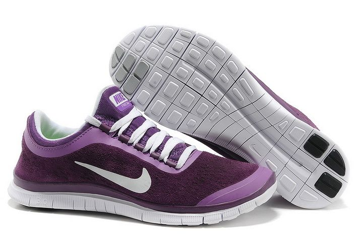new arrival 58525 d8ae8 Womens Nike Free 3.0 V5 Suede Purple - Click Image to Close