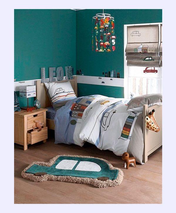 8 habitaciones infantiles para fan ticos de los coches - Habitaciones decoradas para ninos ...