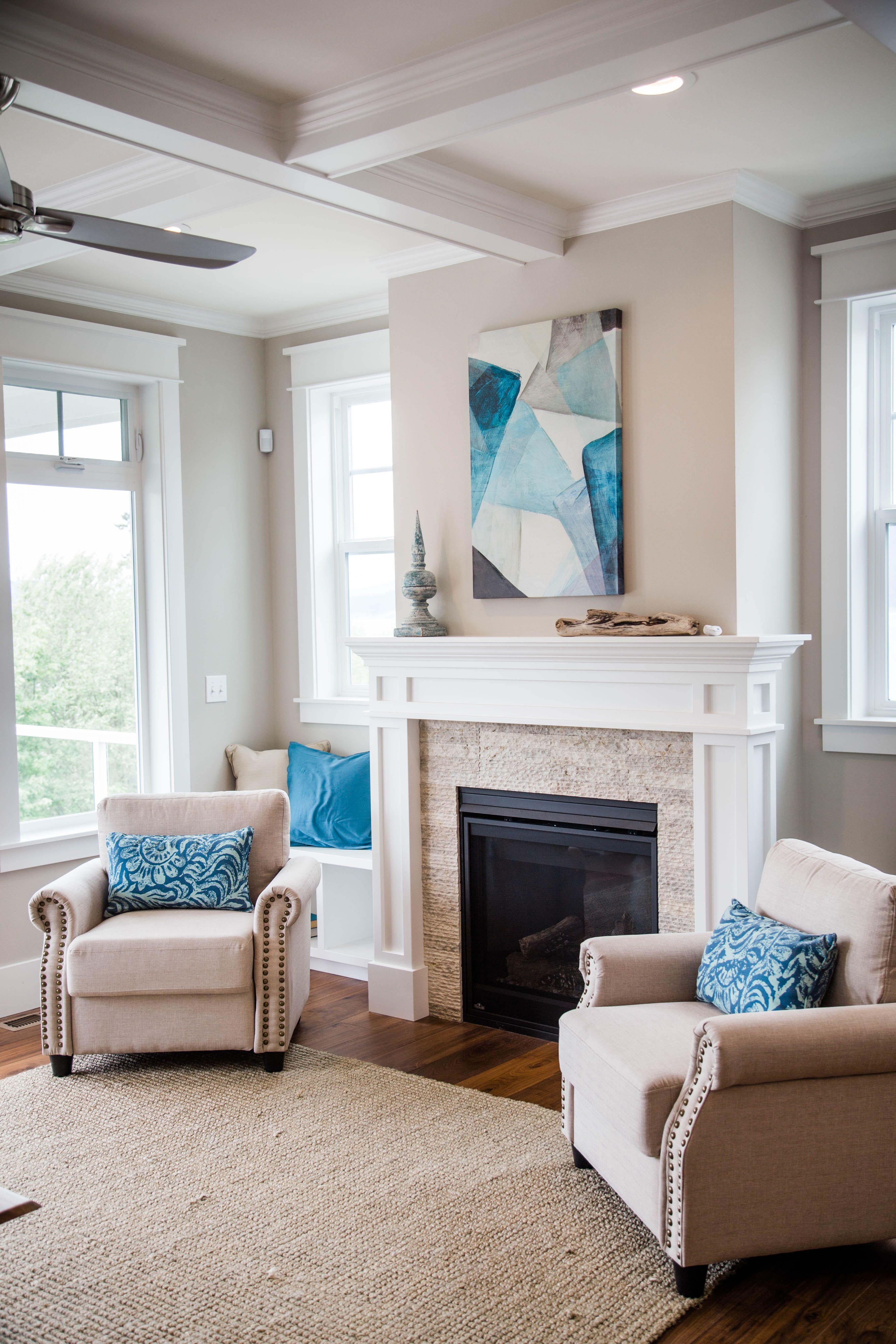 Living Room Timeless Decorating Ideas: Coastal Living Room, White Decor, Beach House, Elegant