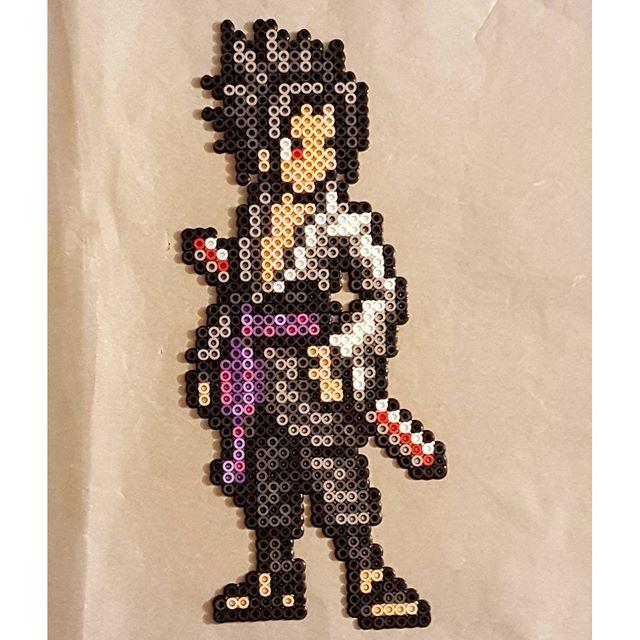 Nara Beads: NARUTO Sasuke Uchiha Perler Bead Sprite By Peckapon