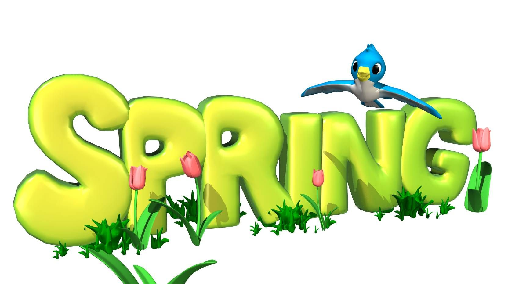 spring is here clean upday happy news pinterest rh pinterest com  free springtime clipart images