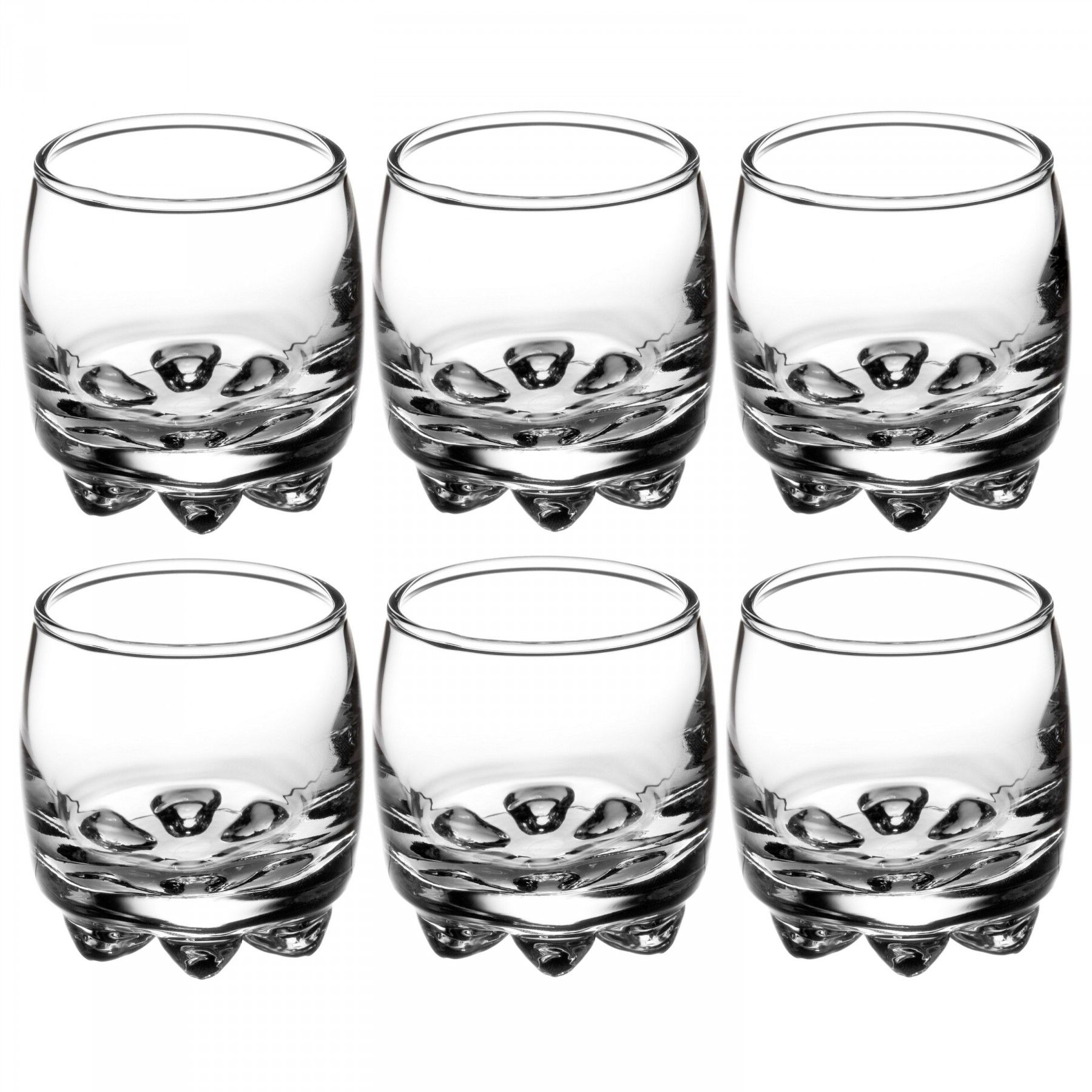 Enjoy a cold shot of whiskey with these Bormioli Rocco