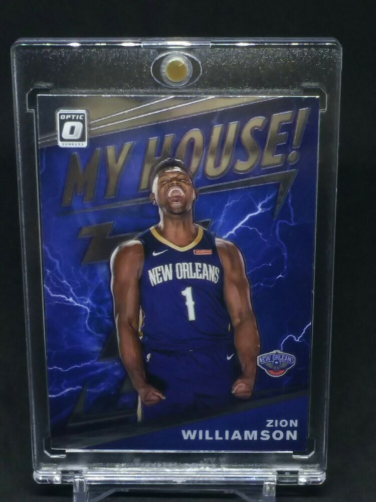 Rc Zion Williamson 2019 20 Optic My House Rookie Insert 15 Pelicans Jersey 1 Neworleanspelicans In 2020 Jersey Zion Williamson