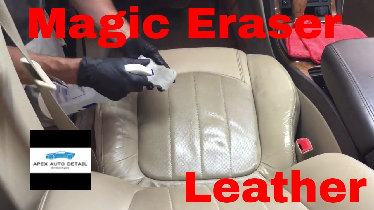 How.....and When to safely clean your leather seats with