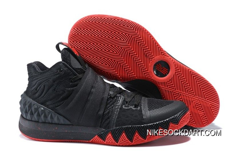 553fee31dea Nike Kyrie S1Hybrid Black Red Discount