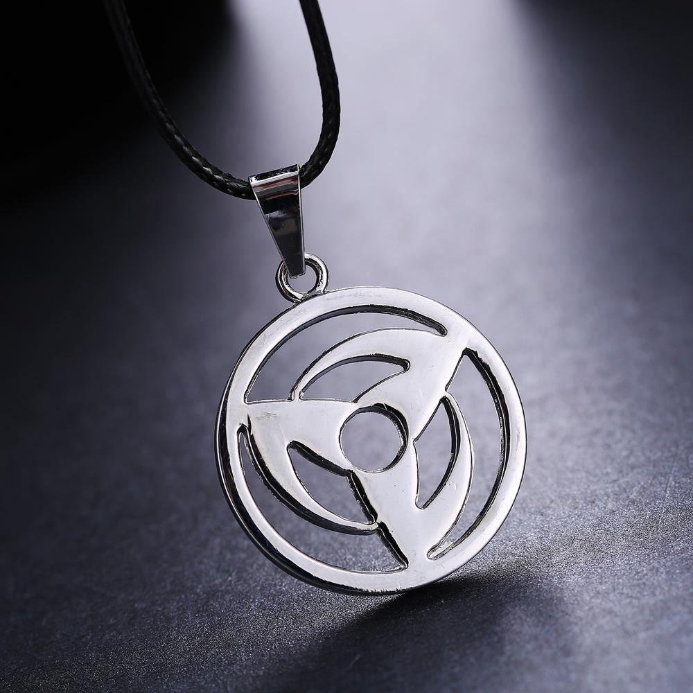 Naruto Kakashi Hatake Sharingan Sya Rin Gan Pendant Necklace Perfect Gift