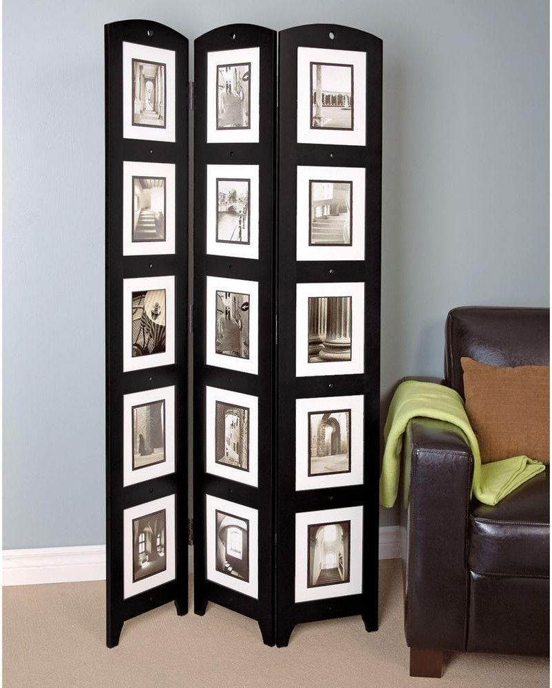 Room Divider Screen 3 Panel Privacy Folding Picture Collage Frame Decorative 627242092398 Ebay Panel Room Divider Room Divider Wood Room Divider