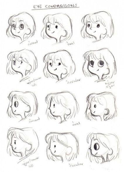 15 Trendy Eye Cartoon Art Styles Cartoon Eyes Drawing Cartoon Style Drawing Cartoon Art Styles