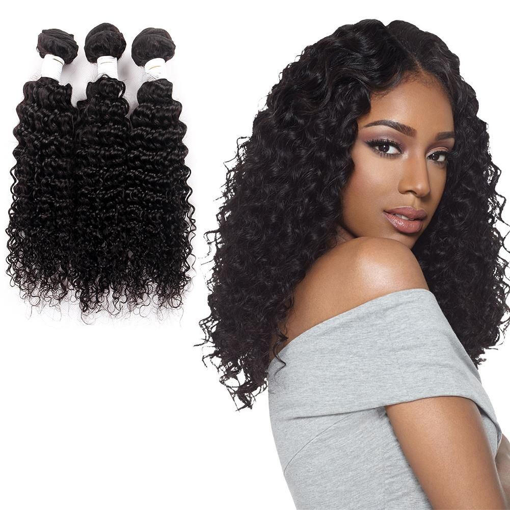 Naturehere Virgin Hair Malaysian Curly Hair Weave Bundles 3 Pieces