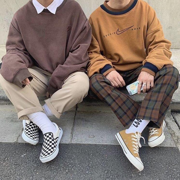 Aesthetic Tumblr On Instagram Left Or Right In 2020 Streetwear Men Outfits Minimalist Fashion Men 80s Fashion Men