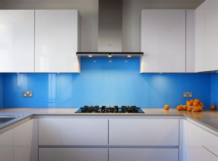 19 tendenziöse Ideen für Küche Glasrückwand | Kitchens