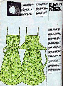 La robe tablier Sonia Rykiel du numéro 6 | Models | Robe ...