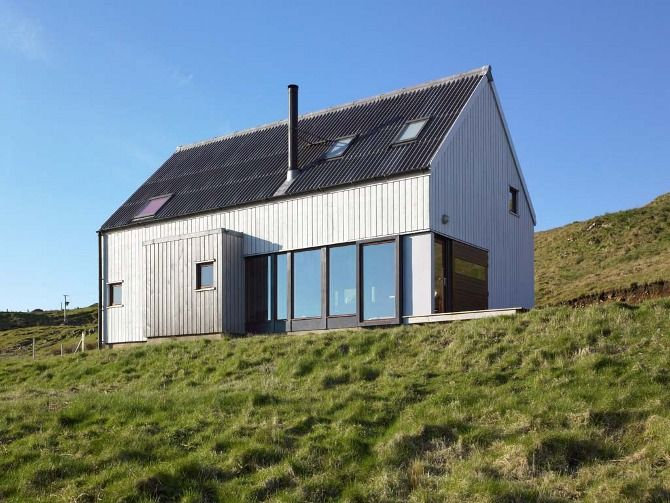 Modern Architecture Scotland milovaig - the wooden house - rural design architects - isle of