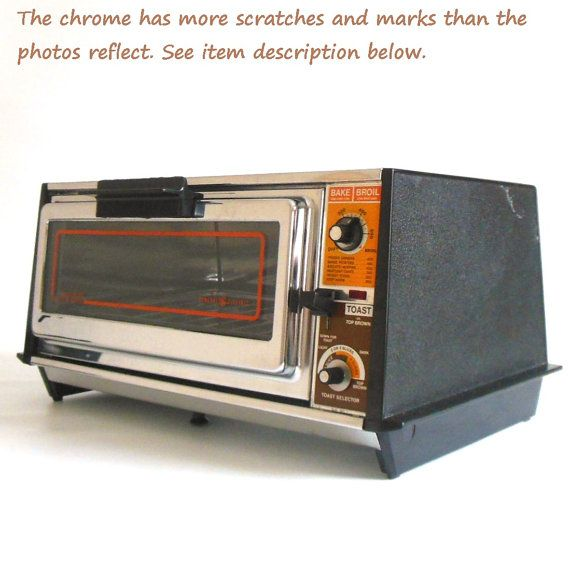 Toaster Oven Vintage Chrome Ge General Electric Made In Usa A5 3126 Toaster Oven Electric Toaster General Electric