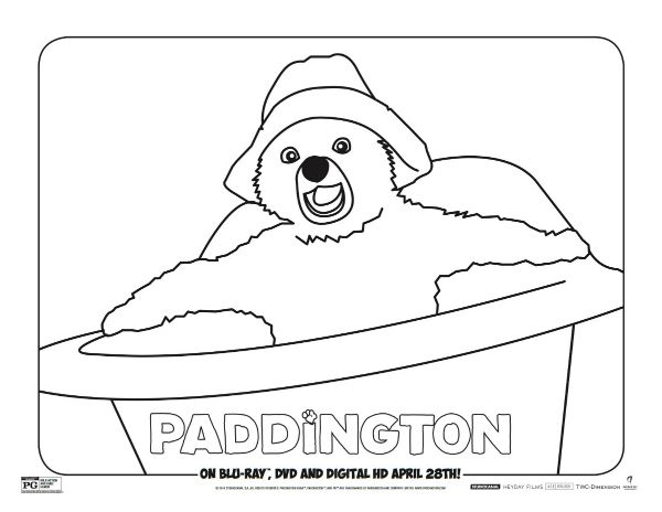 free paddington coloring page printable coloring pages crafts