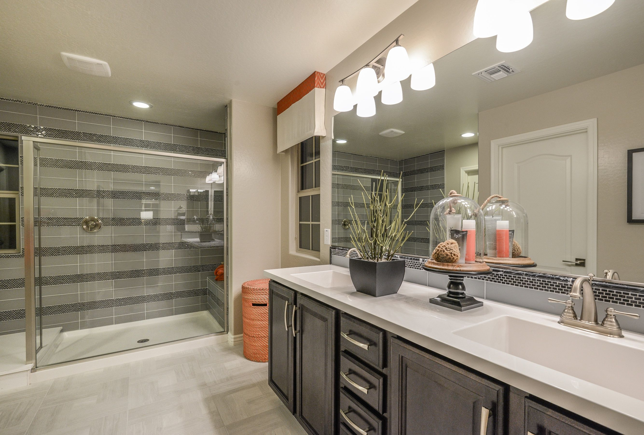 Fall in love with a bathroom that offers convience and