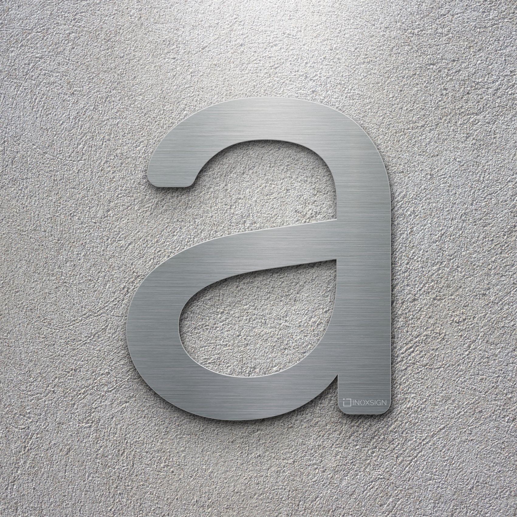 Moderne Hausnummern neu inoxsign edelstahl hausnummer a moderne hausnummern aus