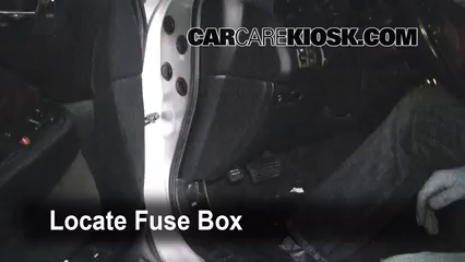 interior fuse box location 1999 2003 acura tl 1999 acura tl 3 2l rh pinterest com  2008 acura tl interior fuse box