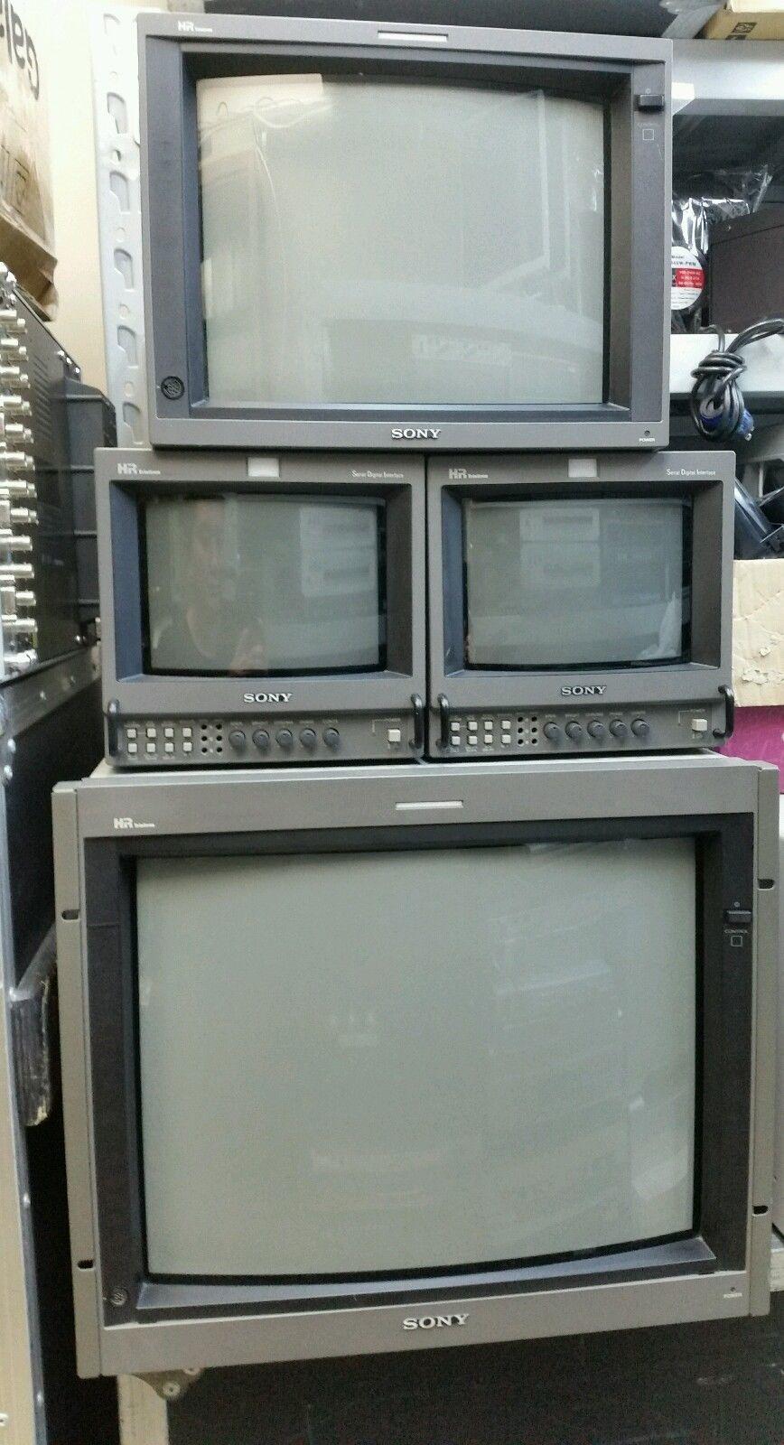 Sony Pvm 20l4 Hr Trinitron Professional Crt Video Monitor Yuv Rgb Sdi Bvm Elektronik