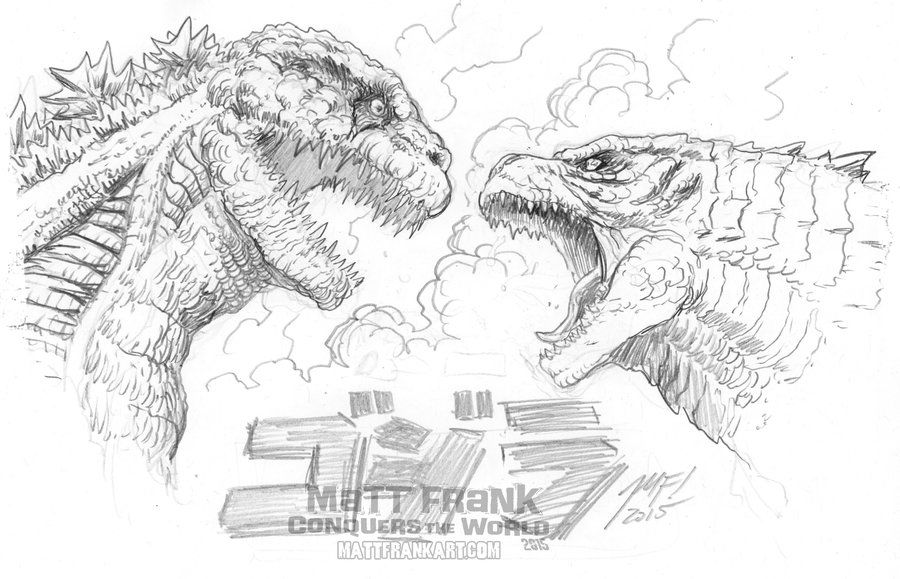 Godzilla Coloring Pages Adult Coloring Pages Avengers Coloring