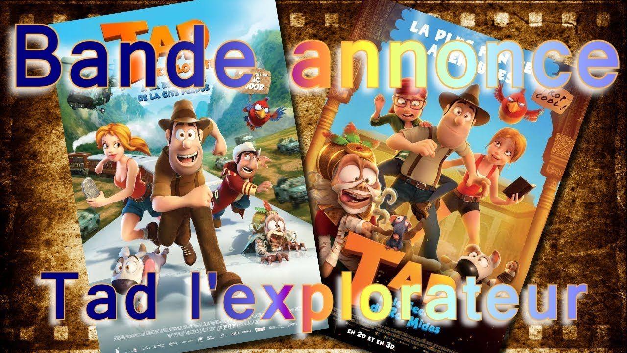 Comme Des Betes Bande Annonce Bande Annonce Tad L Explorateur 1 Et 2 Vf Bande Annonce